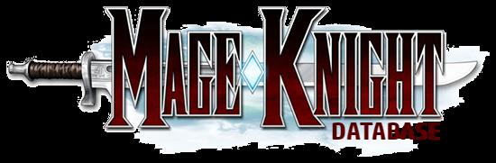 Mage Knight Database